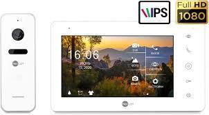 КОМПЛЕКТ FULL HD c DVR и IPS СЕНСОРНЫМ ЭКРАНОМ NeoKIT HD Pro White