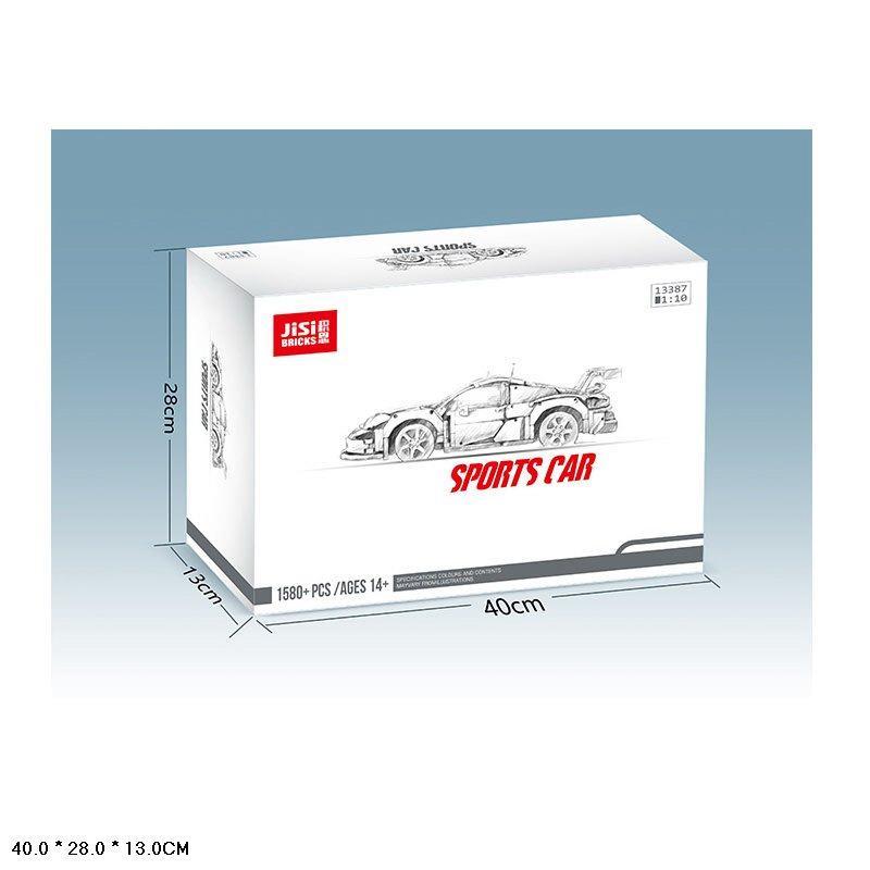 Конструктор серії Techniс Decool (JISI Bricks) Porshe 911 GT3 RSR 1:10 (1580+ Деталей)