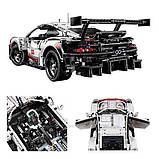 Конструктор серії Techniс Decool (JISI Bricks) Porshe 911 GT3 RSR 1:10 (1580+ Деталей), фото 6