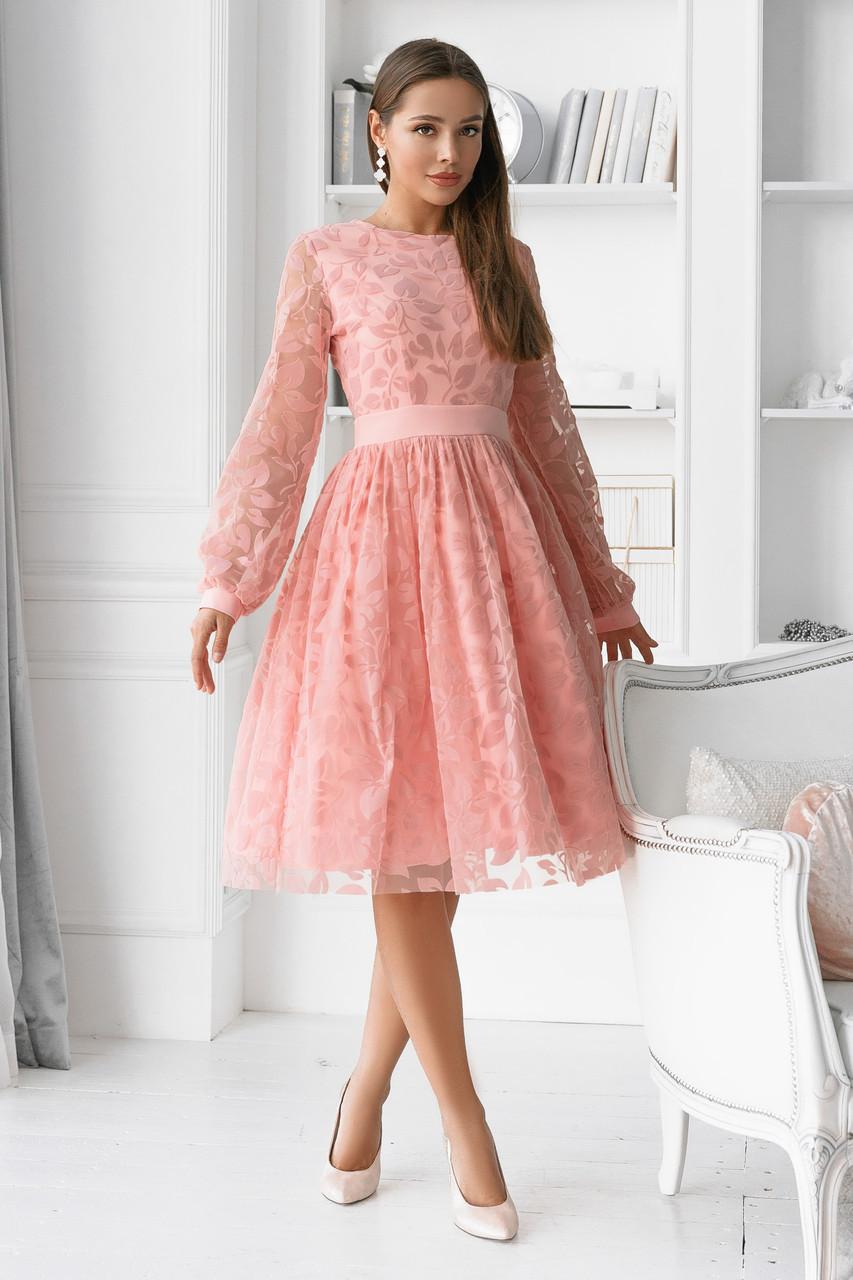 Женское платье Фрезовый