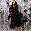 Женское платье Черный, фото 3