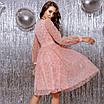 Женское платье Фрезовый, фото 4