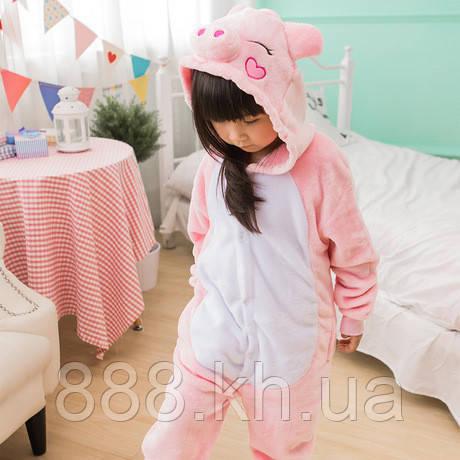 Пижама кигуруми Детские свинка