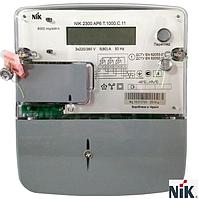 Электросчетчик NIK 2300 AP6.0000.0.11 3x220/380В 5(80)А нетарифный, кл.т.1,0