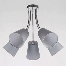 Люстра потолочная на пять ламп NM-814297/5 CR BR