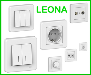 LEONA БЕЛАЯ Schneider Electric