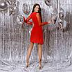Женское платье Красный, фото 4