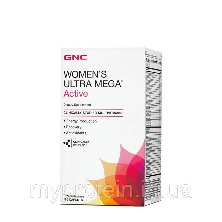 GNC Витамины и минералы для женщин Womens Ultra Mega Active (180 cap)