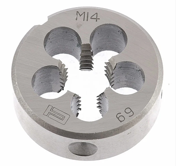 Плашка М14 х 2,0 мм СИБРТЕХ (77037)