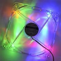 Вентилятор (Cooler) 140 mm LogicPower F14С 4pin Molex, Colors Fan