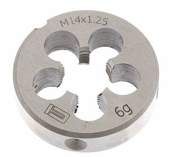 Плашка М14 х 1,25 мм СИБРТЕХ (77035)