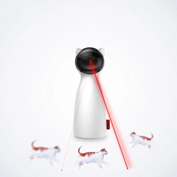 Автоматическая лазерная указка игрушка троллинг для кошек BENTOPAL P01