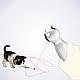 Автоматическая лазерная указка игрушка троллинг для кошек BENTOPAL P01, фото 4