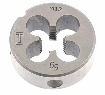 Плашка М12 х 1,75 мм СИБРТЕХ (77032)