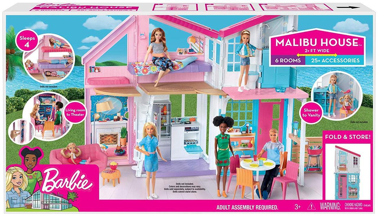 Барби большой набор дом Малибу Barbie Malibu House Playset