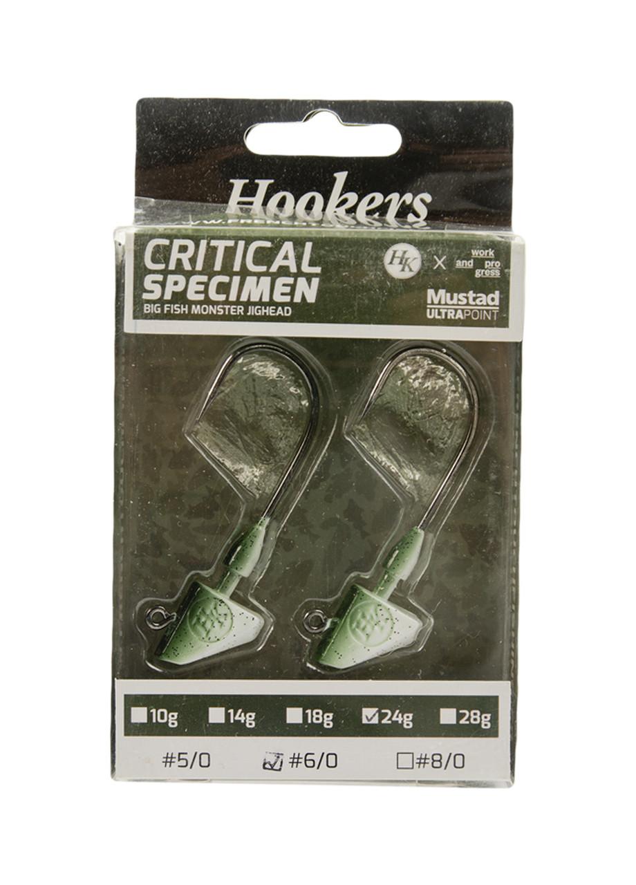 Набор джиг-головок 2 шт. Hookers 6,5х2,5см