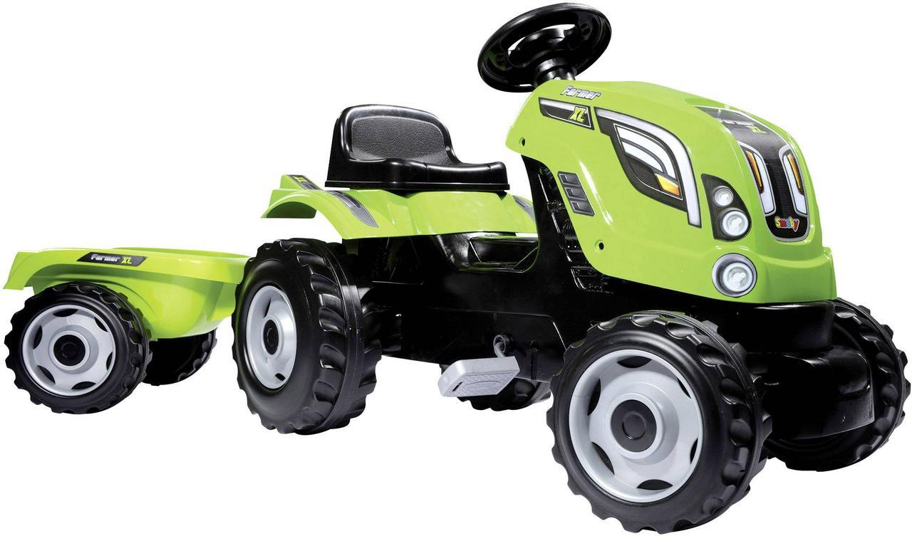Фермер трактор SMOBY ФЕРМЕР зелений XL 710111