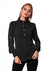 Сорочка чорного кольору 451.2