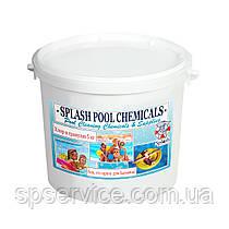 Активный шок хлор в гранулах для регулярной дезинфекции воды в бассейне Сплеш 5 кг