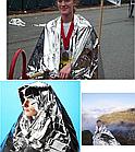 """Термоодеяло аварийное, спасательное сверх-компактное """"космическое"""" (210 х 160 см / 60 г), фото 5"""