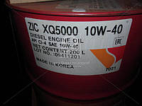 Масло моторное ZIC XQ 5000 10W-40 (Бочка 200л), 207021