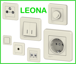 LEONA КРЕМОВАЯ Schneider Electric