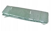 Тент армированный , Накрытие для теплицы  3x6 м с окнами