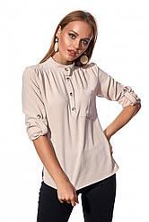 Рубашка бежевого цвета 451.3