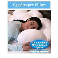 Анатомическая подушка для сна Egg Sleeper.