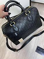 Женская кожаная сумка Gucci (реплика), фото 1