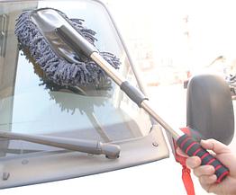 """Авто-щётка / пыльник """"Nano"""" с телескопической рукояткой, микрофибра / микроволокно"""