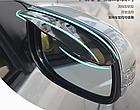 Комплект авто козырьков от дождя на зеркало заднего вида ЛЕВЫЙ+ПРАВЫЙ (2 РАСЦВЕТКИ), фото 4
