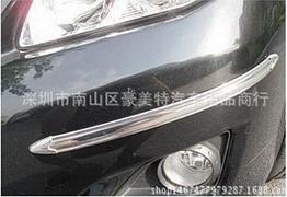 Накладки / молдинги від пошкоджень, захисні на бампер авто