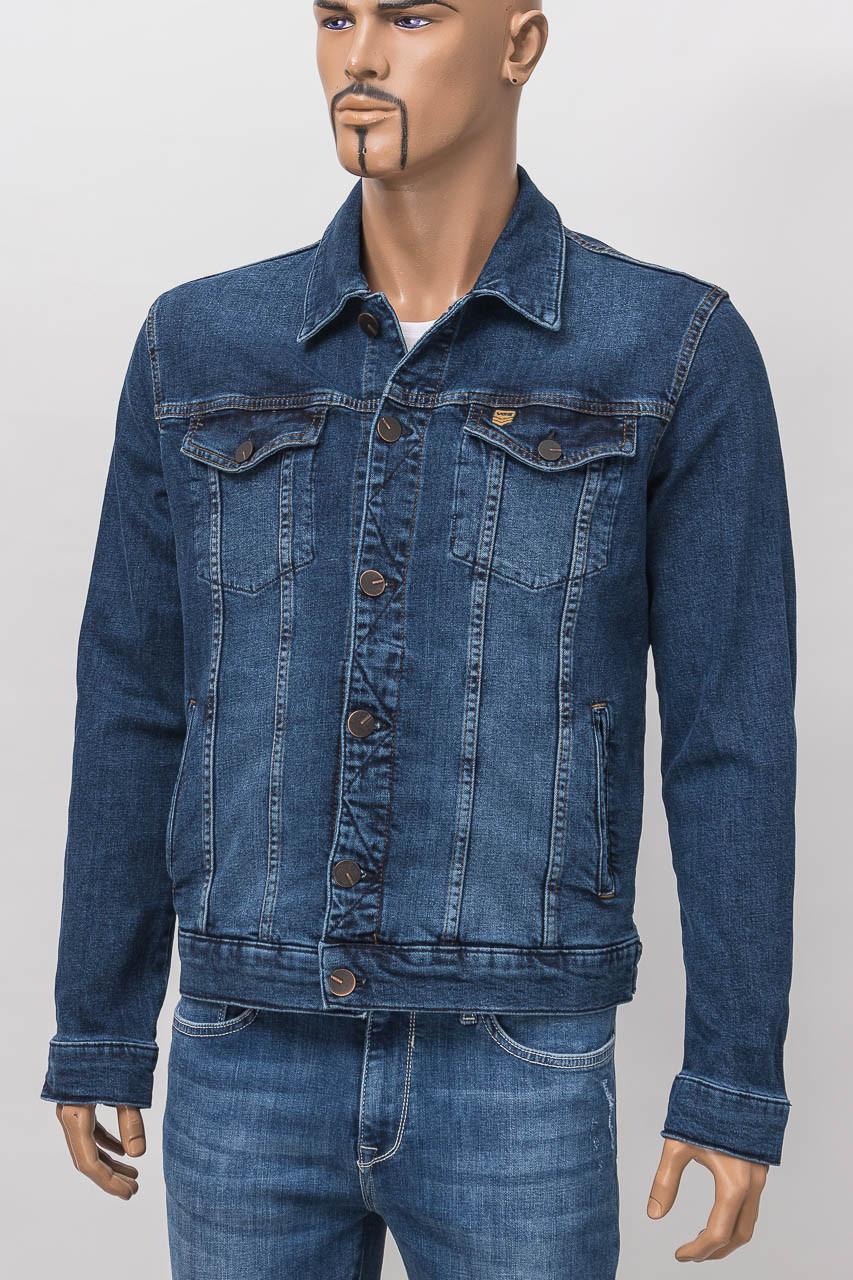 Куртка джинсовая мужская V 96234 7221 V62 D.BLUE DNM