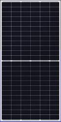 Сонячна батарея DAH Solar HCM72X9-410W