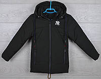 """Куртка детская демисезонная """"NY"""" 4-5-6-7-8 лет (104-128 см). Хаки темный). Оптом., фото 1"""