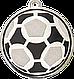 Медаль футбольная диаметром 50 мм. DI5009, фото 2