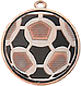 Медаль футбольная диаметром 50 мм. DI5009, фото 3