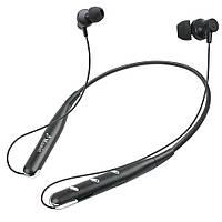 Беспроводные Bluetooth стерео наушники Sport Headset Wireless microSD для бега и занятия спортом Серебристый