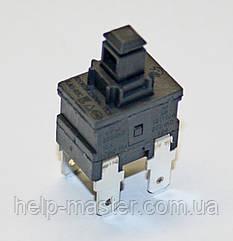 Кнопка для пылесоса  KAG-03C (PIN-4)