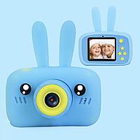Детская цифровая мини камера фотоаппарат для ребенка с элементами животных x9s HD + 32GB карта памяти