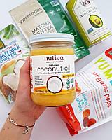 Nutiva, Органическое кокосовое масло, со вкусом сливочного масла, 14 ж. унц. 414 мл, официальный сайт
