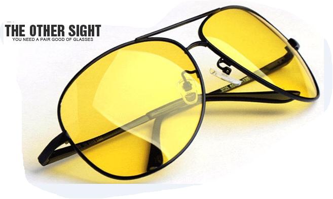 Очки для ночного вождения (антифара) Night View NV