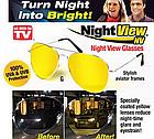 Очки для ночного вождения (антифара) Night View NV, фото 2