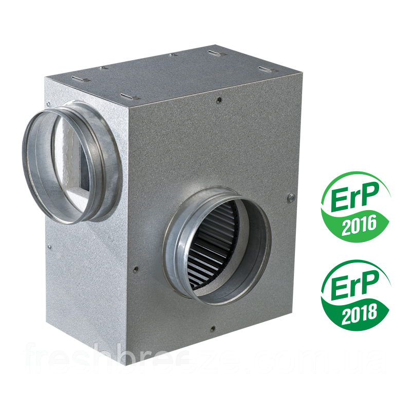 Центробежный шумоизолированный вентилятор вентс КСА 100-2Е