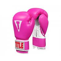 Оригинальные Боксерские Перчатки TITLE Classic Pro Style Training Gloves 3.0 - Pink