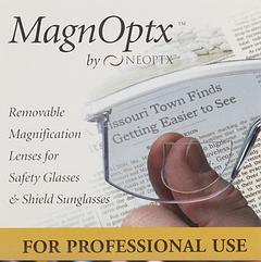Оптичні лінзи MagnOptx для окулярів(гуглов)+1,75 приклеивающиеся