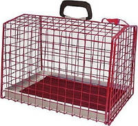 Клетка перевозка котов и собак Croci металл (28х26х37см)