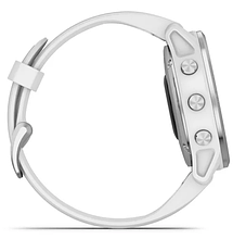 Смарт-годинник Garmin fenix 6S White with White Band, фото 2
