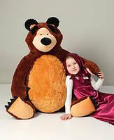 Мягкая игрушка большой плюшевый мишка 150см из мультфильма Маша и медведь